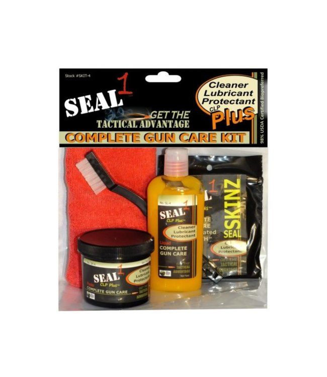SEAL 1 Complete Tactical Gun Care Kit