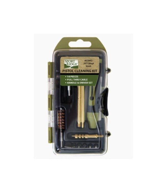 Tac Shield 38/357/9mm Pistol Cleaning Kit