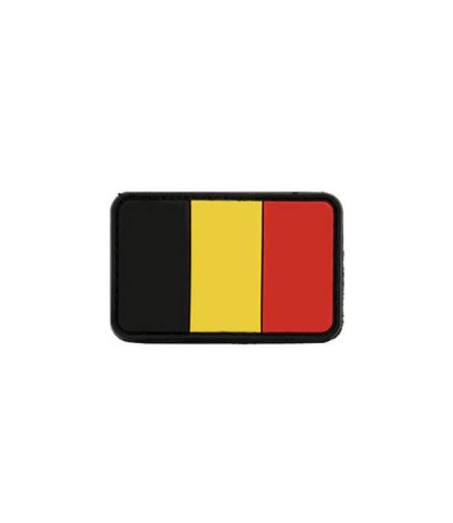 MFH Belgium Flag PVC Patch
