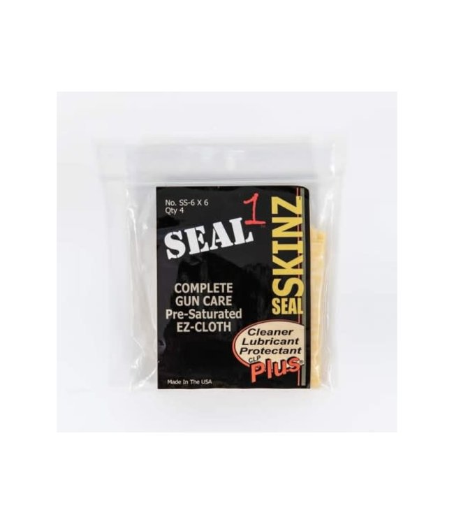 SEAL 1 Bore Cleaning Patches - Caliber .22 - .270