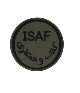 MFH ISAF patch