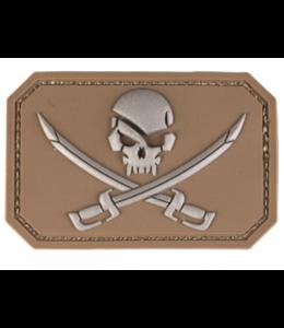 Mil-Tec Pirate Skull Morale PVC Patch