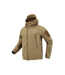 Levelfour Special Ops Softshell Jacket (Coyote Tan)