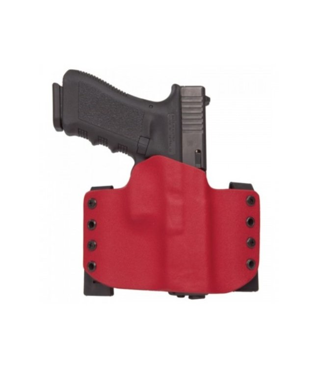 Levelfour Red Kydex OWB Holster - G17/34 (Right Handed)