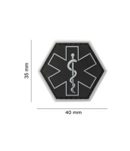 JTG Paramedic Hexagon Rubber Patch SWAT