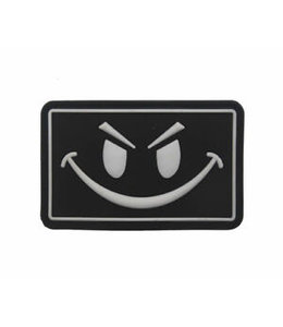 JTG Evil Smile Rubber Patch - Glow In The Dark