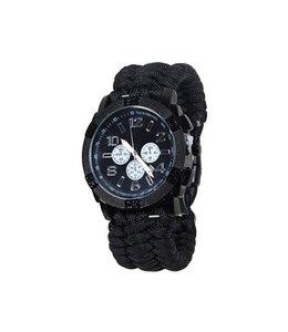 Mil-Tec Paracord Watch (Black)