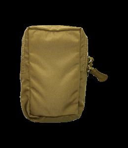 CTOMS Pouch, Symmetrical Zipper Saddle Bag (Ranger Green)