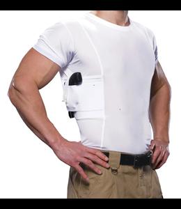 UnderTech Men's Concealment Carry Crew Neck T-shirt (White) - Medium