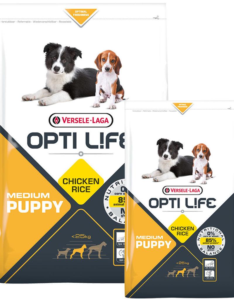 Versele - Laga: Opti Life Opti Life Puppy Medium