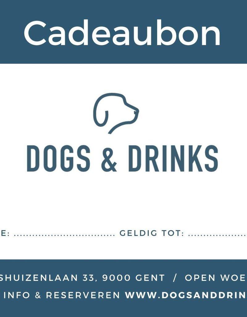 Dogs & Drinks Cadeaubon