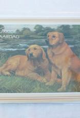 Dogs & Drinks Postkaart / Wenskaart V1