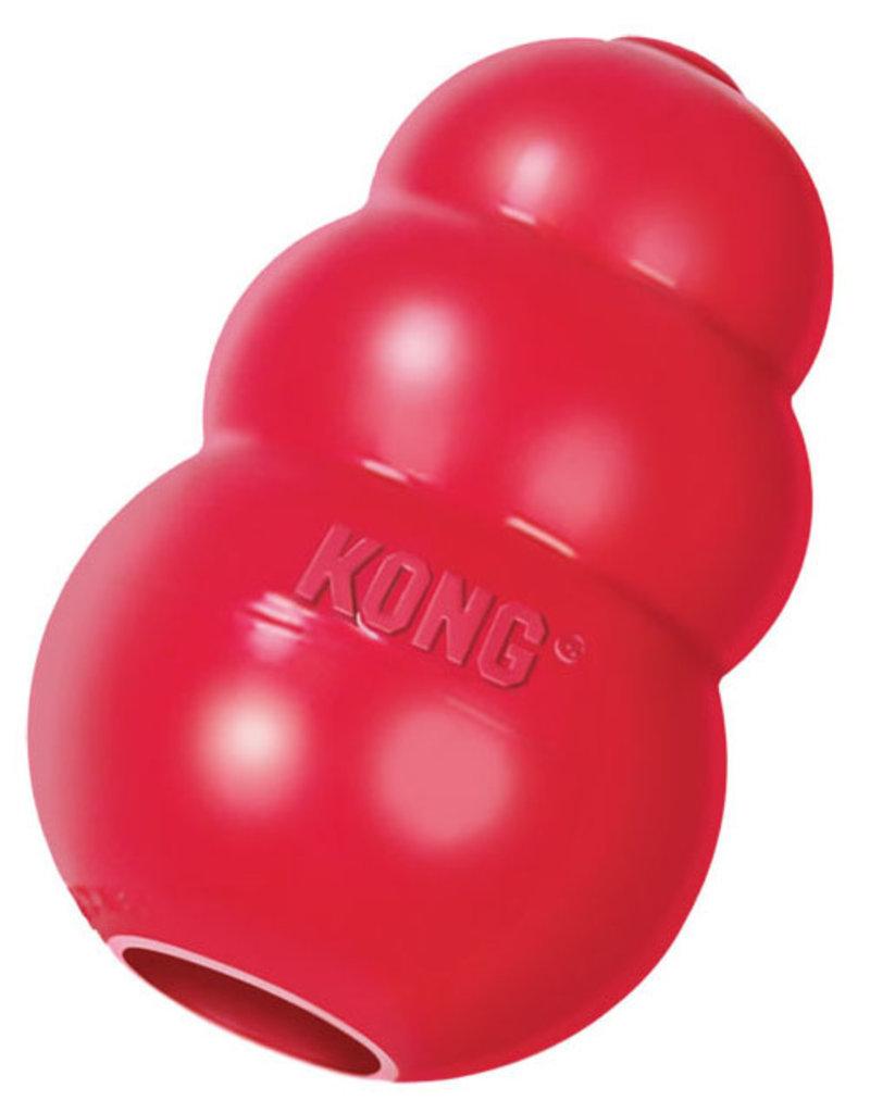 Kong Kong Classic Rood duurzaam en therapeutisch hondespeeltje