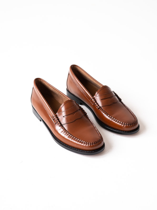 G.H. BASS WEEJUNS LOAFER PENNY - BLACK