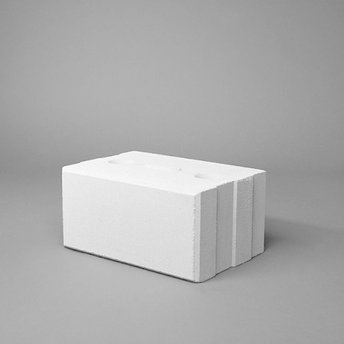 Kalkzandsteen vellingblok 29,7x21,4x14,8cm