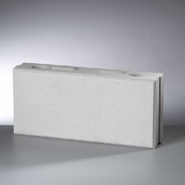 Kalkzandsteen vellingblok 43,7x10x19,8cm (€1,99)