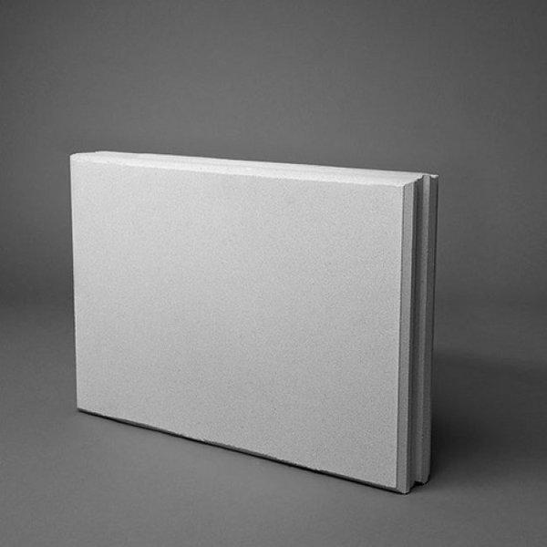 Kalkzandsteen vellingblok 43,7x6,9x29,8cm (€3,13)