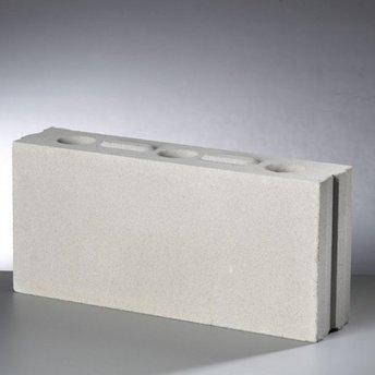 Kalkzandsteen lijmblok 43,7x10x19,8cm