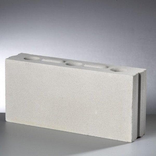 Kalkzandsteen lijmblok 43,7x10x19,8cm (€1,55)