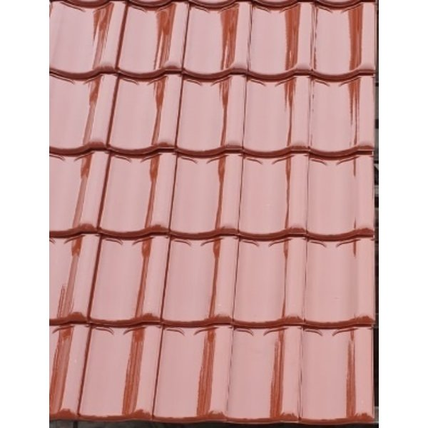 Koramic VHV vario dakpan Lichtbruin Verglaasd 371 x 261 mm