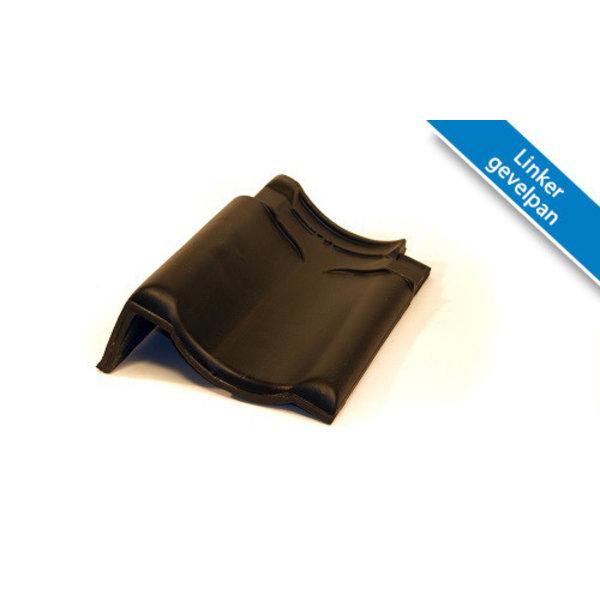 Koramic VHV dakpan Zwart Satinet 371 x 261 mm