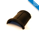 Koramic VHV vario dakpan Leizwart Verglaasd 371 x 261 mm