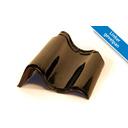 Koramic OVH dakpan Zwart Verglaasd 367 x 267 mm