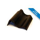 Koramic OVH dakpan Zwart Satinet (bruine gloed) 367 x 267 mm