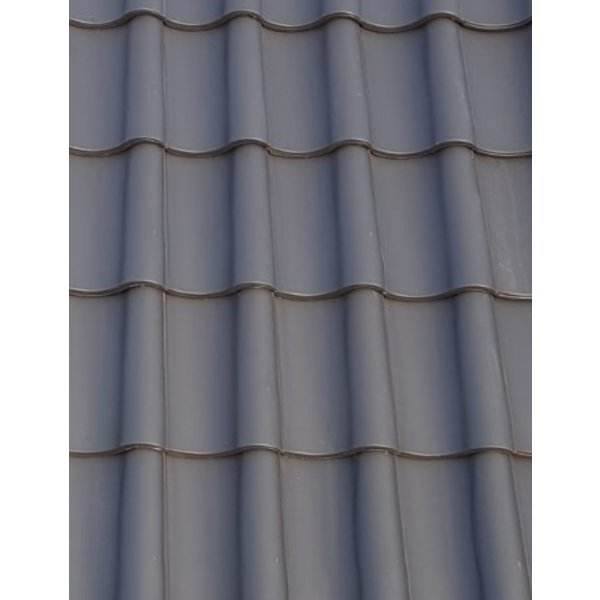 Monier Nieuwe Hollander dakpan Grafietgrijs 420 x 267 mm