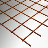 Bressers Metaal Bouwstaalmatten Blank 6mm/Maaswijdte 150x150mm 300x200cm