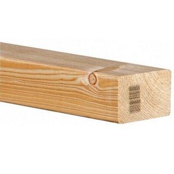 Vurenhout Klasse C geschaafd 4-zijdig kopmaat 47x75mm