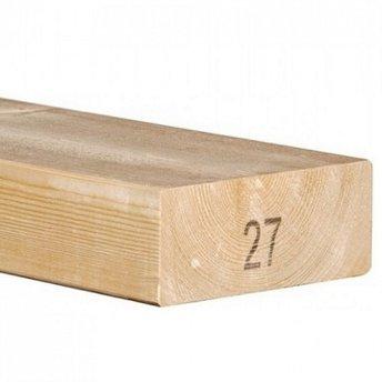 BB Vurenhout Klasse C geschaafd 4-zijdig kopmaat 63x160mm
