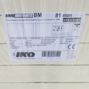 PIR bitumen/mineraalglasvlies 1200x600x80mm (B-keus)