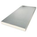 PIR 2-zijdig aluminium sponning isolatieplaten 2400x1200x100mm (B-keus)