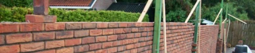 Zo maakt u prijsbewust een tuinmuur met metselstenen
