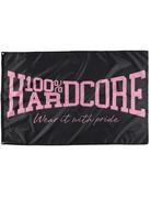 100% Hardcore 100% Hardcore Fahne 'The Brand' Pink