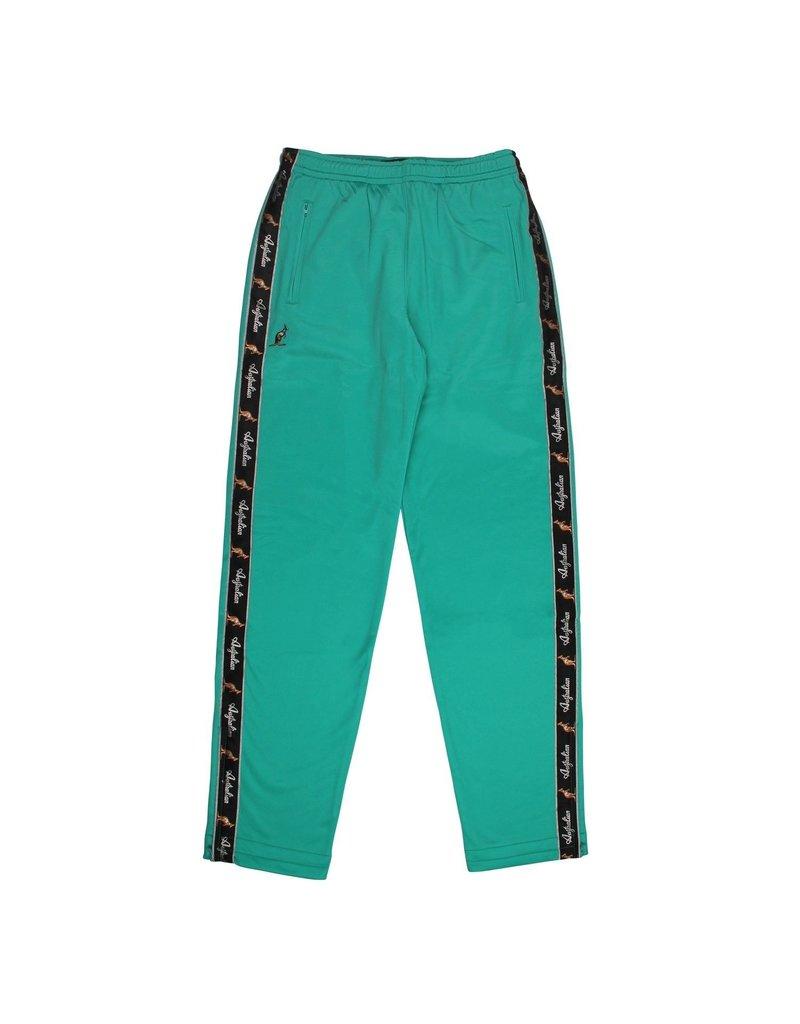 Australian Australian Track Pants with tape (Green/Black)