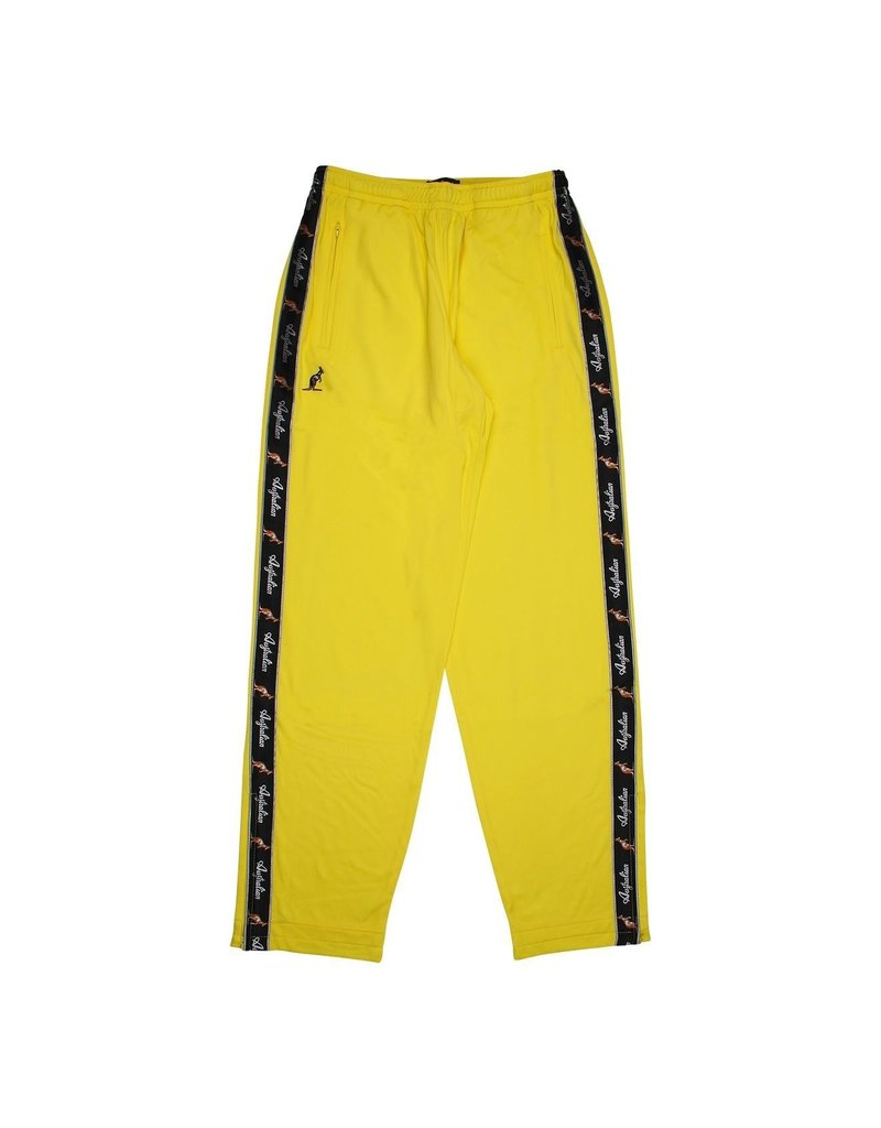 Australian Australian Trainingsbroek met bies (Neon Yellow/Black)