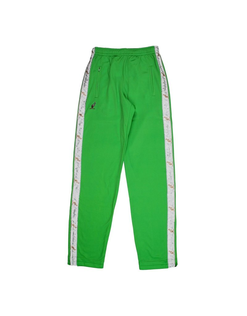 Australian Australian Track Pants with tape (Green/White)