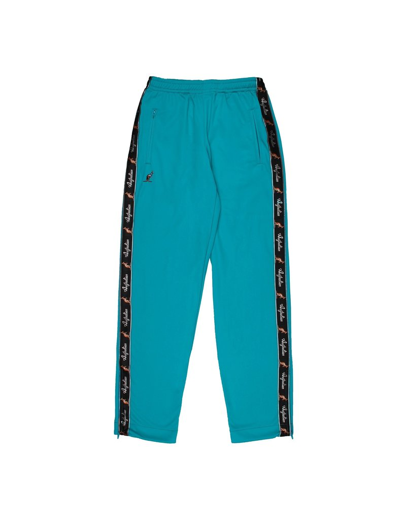Australian Australian Track Pants with tape (Turqoise/Black)