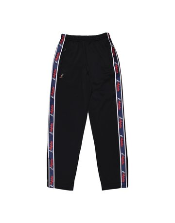 Australian Australian Track Pants with tape (Black/Blue)