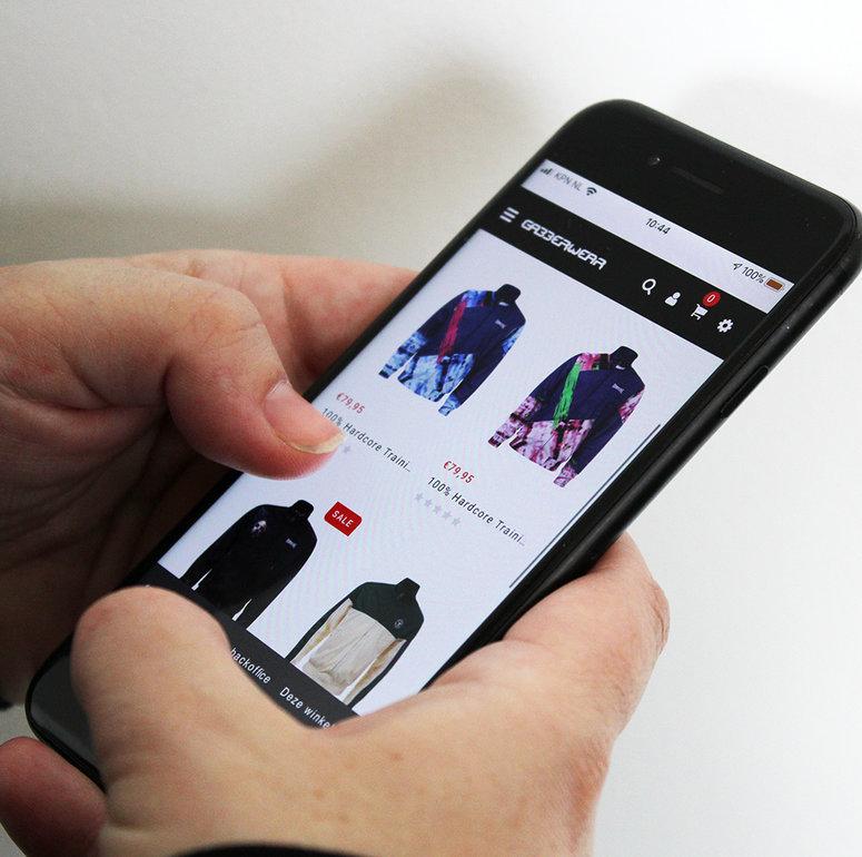Gabberwear, de Nieuwe Look van de Webshop!