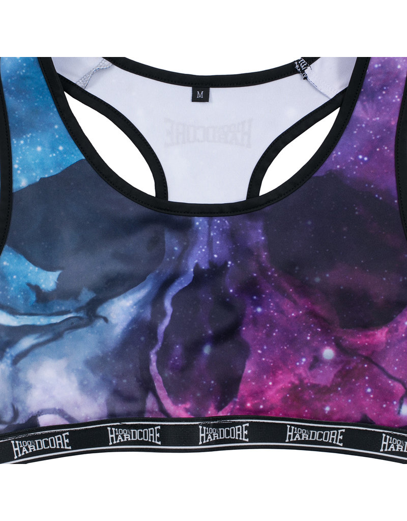100% Hardcore 100% Hardcore Women Sport Top 'Dream'