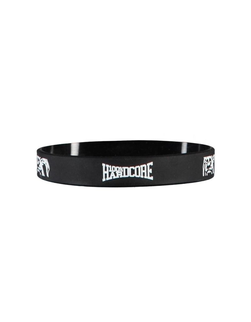 100% Hardcore 100% Hardcore Wristband 'Black/White'