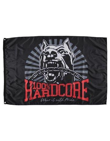 100% Hardcore 100% Hardcore Fahne 'Dog-1'