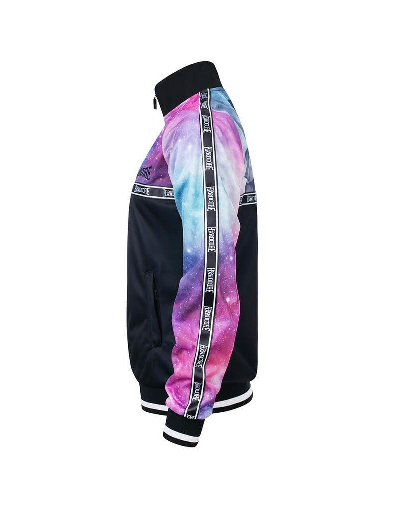 100% Hardcore 100% Hardcore Frauen Trainingsjacke 'Dream Stripe'