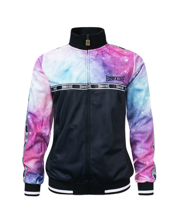 100% Hardcore 100% Hardcore Frauen Trainingsjacke 'Dream Stripe'