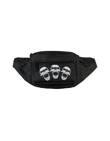 Terror Terror Bum Bag 'Skulls'