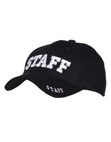 Fostex Garments Fostex Garments Baseball Cap 'Staff'