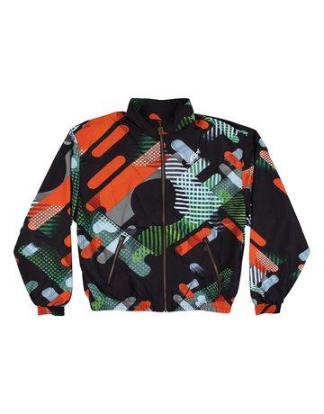 Australian Australian Track Jacket 'Giacca Smash' (Black/Multi)